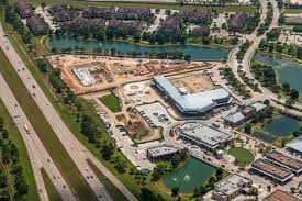 Ariel View LaCenterra Cinco Ranch